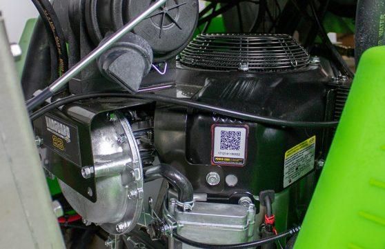 21 hp engine in the SG36 machine