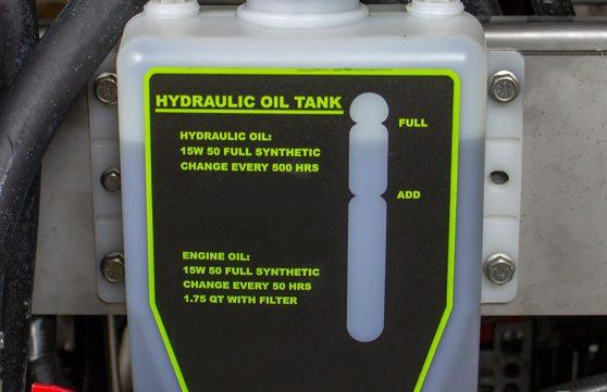 3 qt oil resevoir hydraulic oil tank