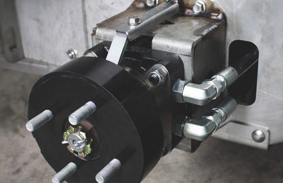 drum parking brakes on SG36