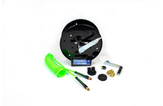 green hose and reel parts