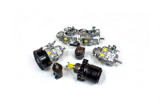 6 different hydraulic parts for sale