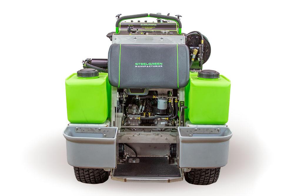 back of sg46 sprayer spreader