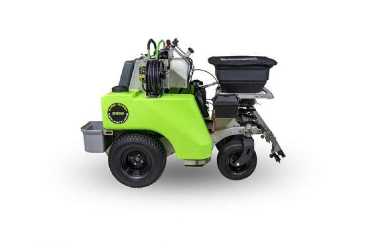 steel green manufacturing sprayer spreader equipment