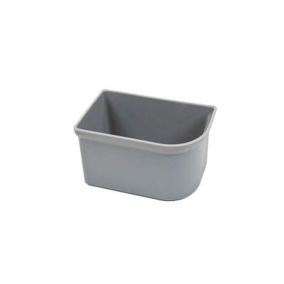 Silver Fertlizer Box - Left