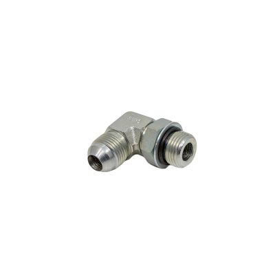 1/2 Male JIC x 1/2 Male O-Ring Boss 90° - Straight Thread Elbow - Steel