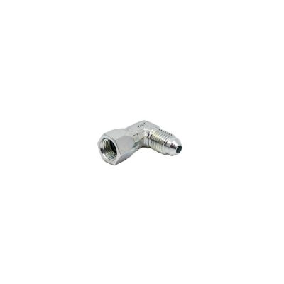 1/4 Male JIC x 1/4 Female JIC Swivel 90° - Swivel Nut Elbow - Steel