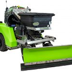 Thumbnail of http://steel%20green%20manufacturing%20spreader-sprayer%20with%20snowplow%20attachment