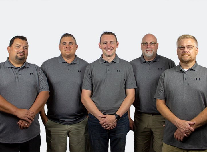steel green manufacturing team