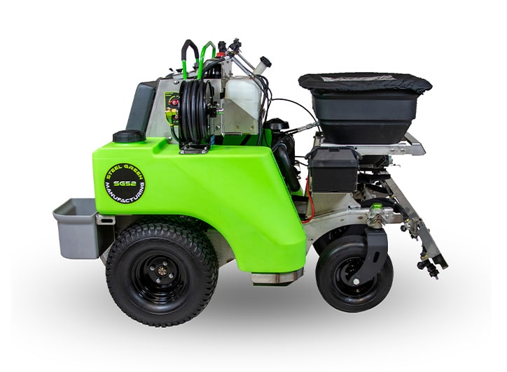 isolated steel green 52 spreader/sprayer